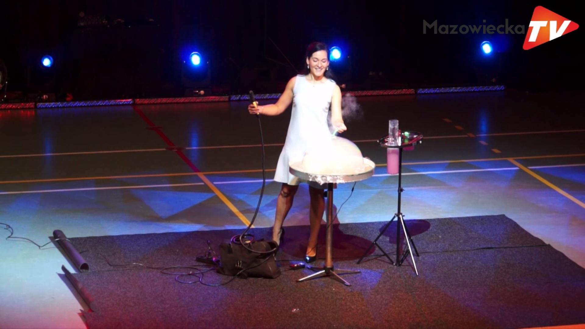 Inna Biliaieva i jej bańki mydlane na XIV Festynie Rodzinnym w Grójcu