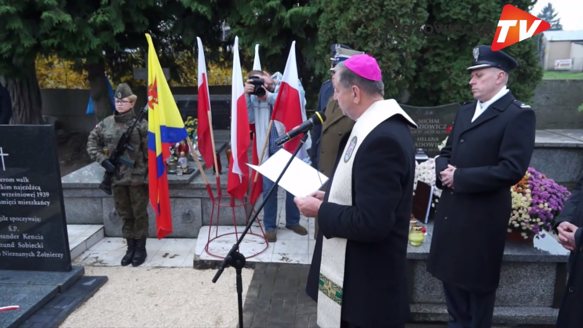 Odsłonięcie Pomnika Ku Czci Poległych Żołnierzy kampanii wrześniowej 1939 r. w Nowym Mieście nad Pilicą