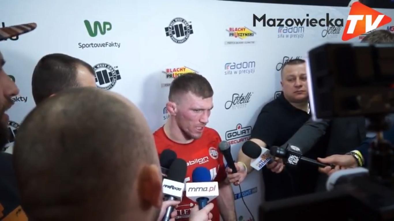 Babilon MMA 3 Radom: Wywiad z Danielem Rutkowskim