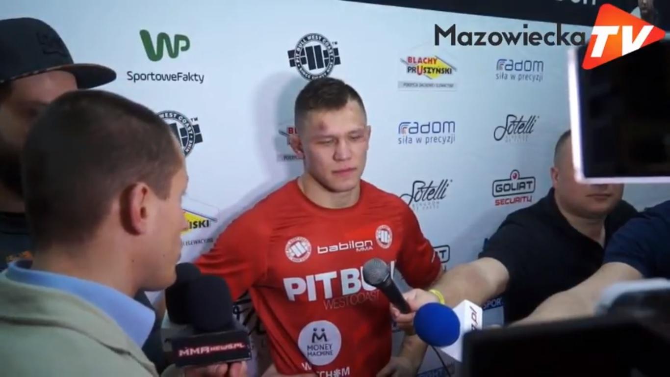 Babilon MMA 3 Radom: Wywiad z Danielem Skibińskim