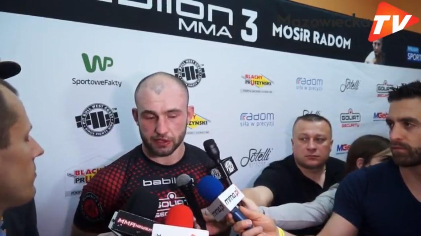 Babilon MMA 3 Radom: Wywiad z Rafałem Haratykiem