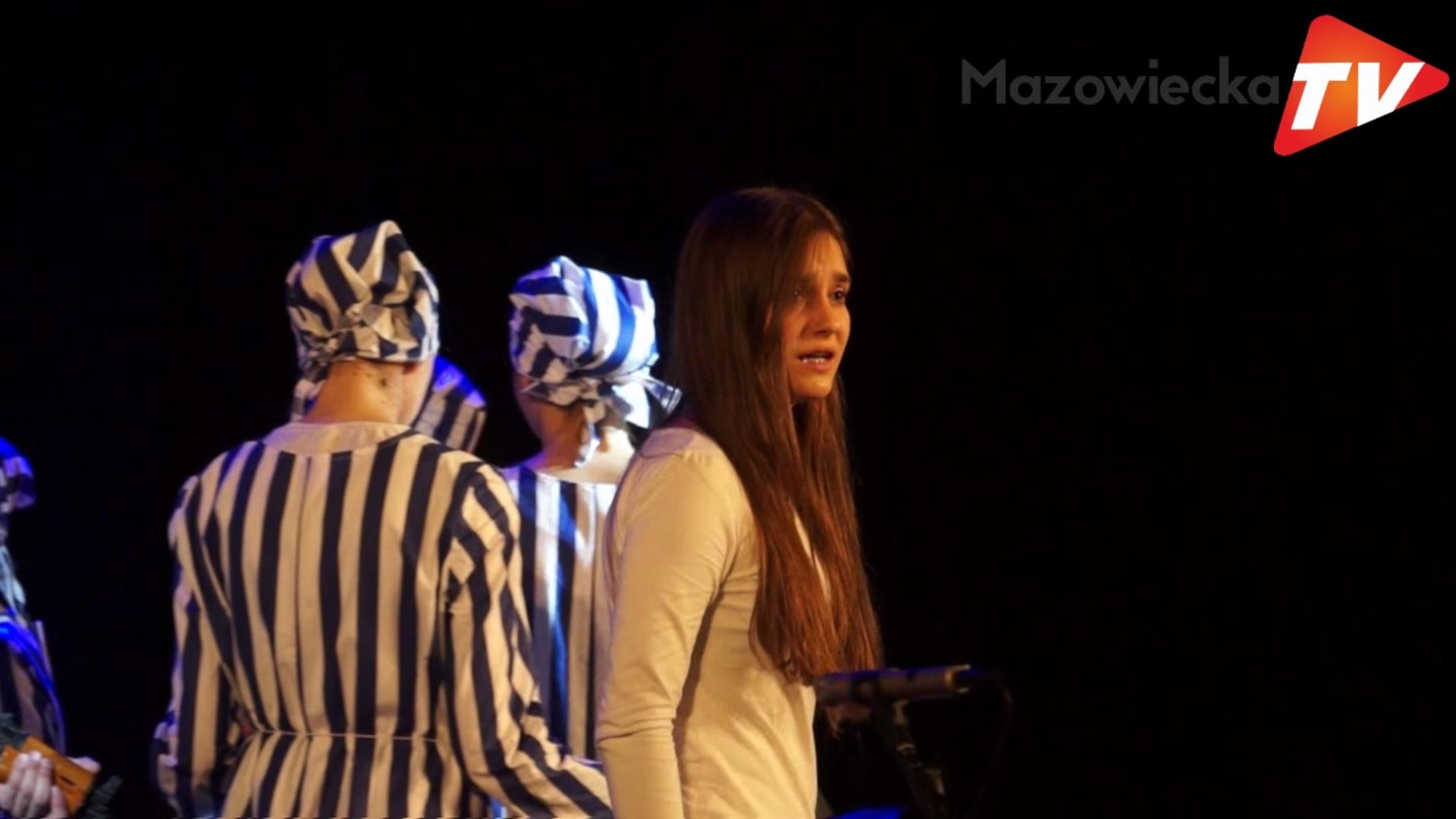 """Spektakl """"Zapamiętaj imię swoje"""" w Grójeckim Ośrodku Kultury"""