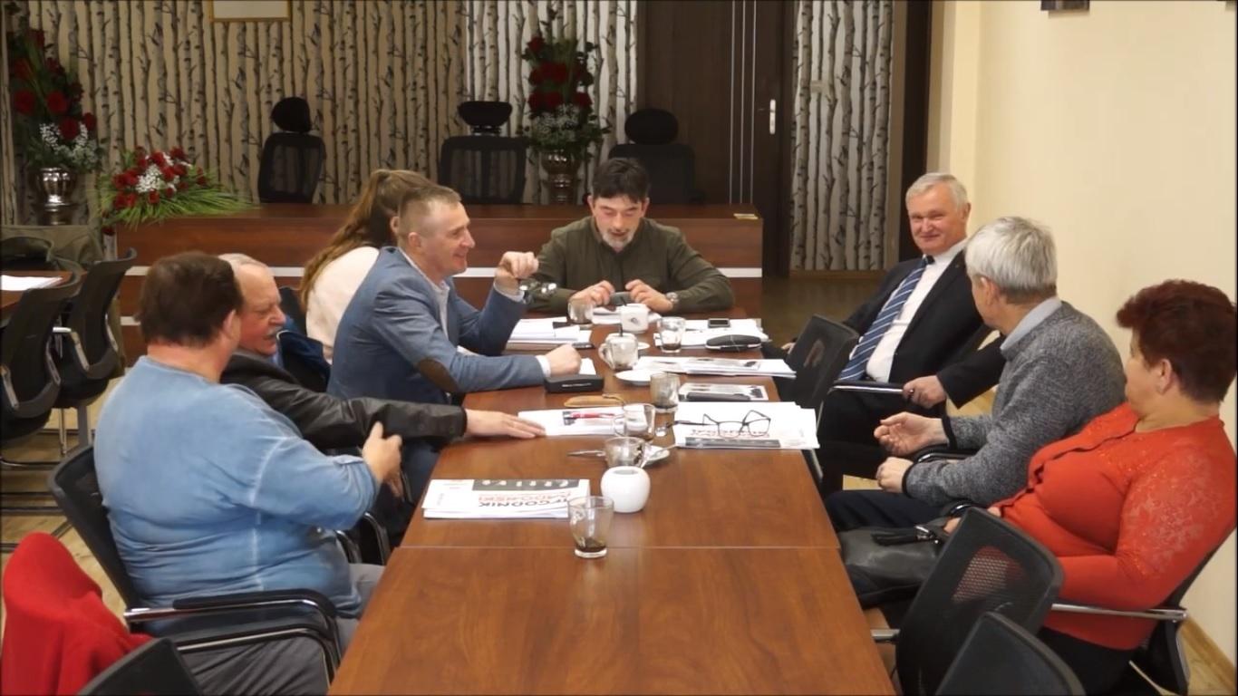 Posiedzenie Komisji Oświaty i Spraw Społecznych Rady Miejskiej w Mogielnicy - 15 marca 2019 r.