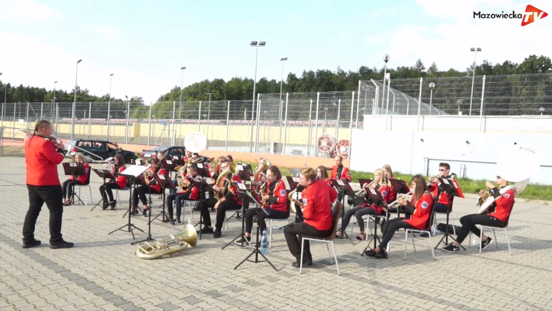 Koncert Dziecięco-Młodzieżowej Orkiestry Dętej z Mogielnicy na Pożegnanie Lata 2020
