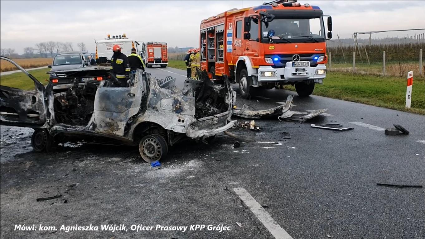 Tragiczny wypadek w Lasopolu k. Grójca